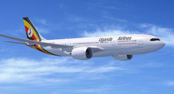 Airbus A330-800 von Uganda Airlines