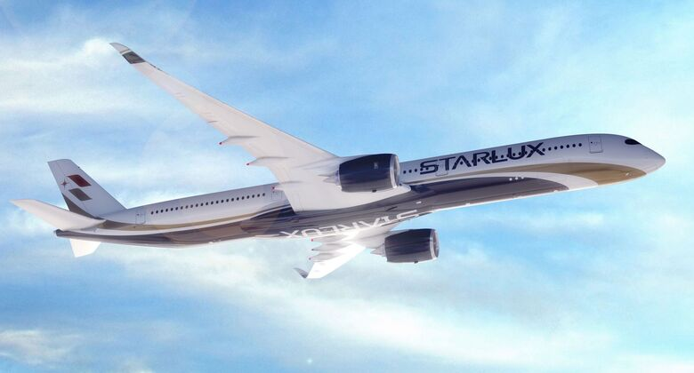 Airbus A350-1000 von STARLUX aus Taiwan