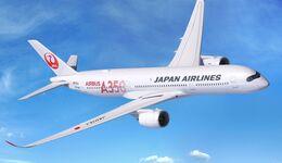 Airbus A350 XWB von Japan Airlines