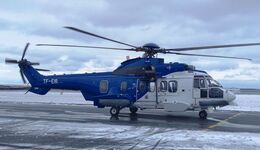 Airbus Helicopters H225 der Icelandic Coast Guard.