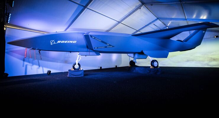 Boeing Airpower Teaming System auf der Australian International Airshow 2019