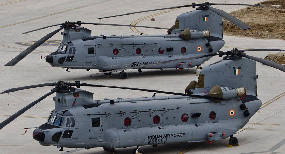 Boeing CH-47F(I) Chinook für die indischen Luftstreitkräfte.
