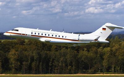Bombardier Global 5000 der Luftwaffe