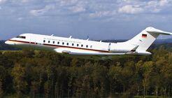 Bombardier Global 5000 der Luftwaffe