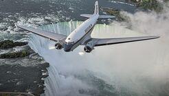 Breitling DC-3 World Tour - Niagara falls - Canada