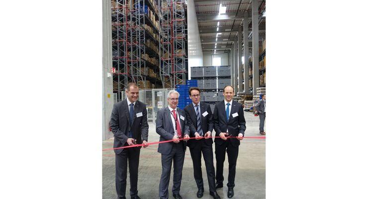 Das neue Logistikzentrum von RECARO wurde Ende Februar eröffnet.