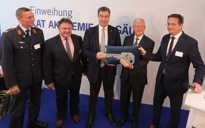 Eröffnung DFS-Akademie für Militärlotsen in Kaufbeuren am 21. Oktober 2019.