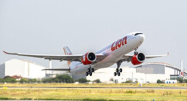 Erster Airbus A330neo für Lion Air im Juli 2019.