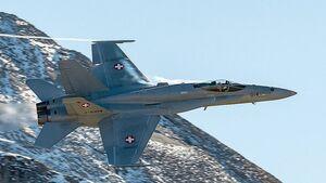 F/A-18C der Schweizer Luftwaffe