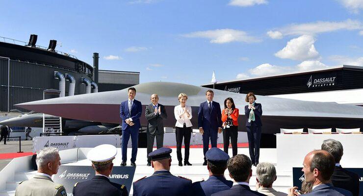 FCAS-Vorstellung in Paris 2019.