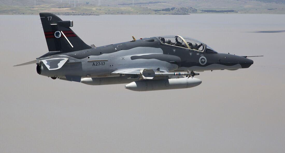 Hawk Mk 127 der 76 Squadron Royal Australian Air Force