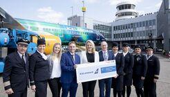 Icelandair fliegt seit April 2019 nach zehn Jahren wieder nach Düsseldorf.