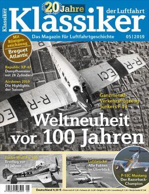 Klassiker der Luftfahrt 5/2019