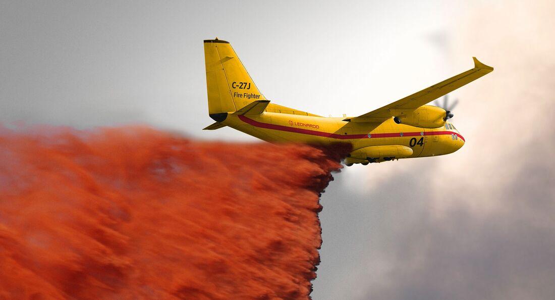 Leonardo C-27J Firefighter