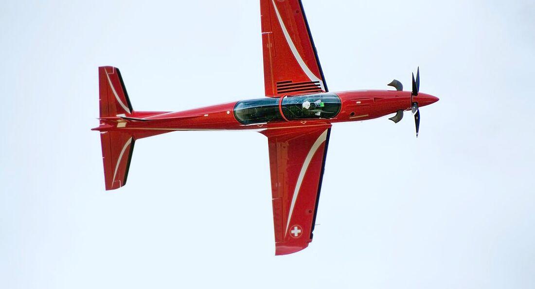 Pilatus PC-21 der Schweizer Luftwaffe